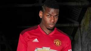 Paul Pogba New Man Utd Shirt