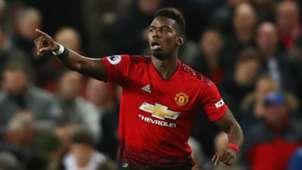 Paul Pogba Manchester United vs Bournemouth Premier League 2018-19