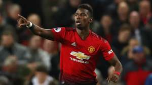 Paul Pogba Manchester United vs Bournemouth Premier League 2018-19
