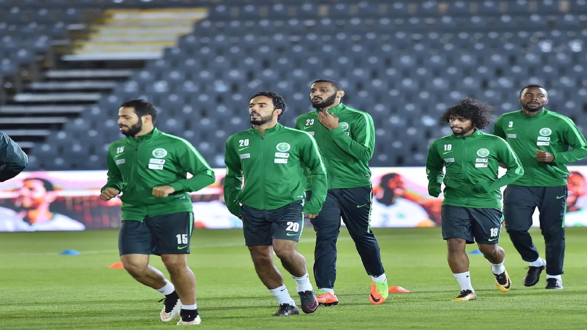 المنتخب السعودي - تدريبات