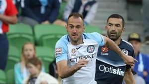 Ivan Franjic Melbourne City v Melbourne Victory A-League 17122016