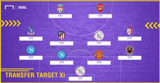 African transfer target XI