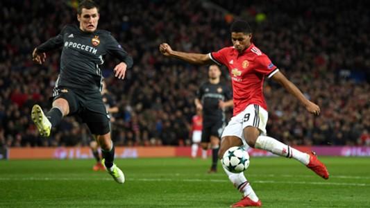 Marcus Rashford Manchester United CSKA