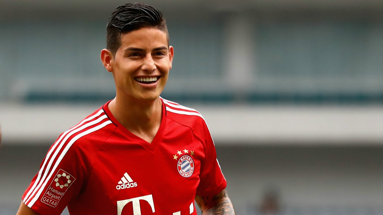 Bayern Munich News James Rodriguez Happy After Overcoming Issues With Form And Weather