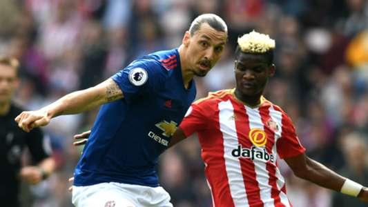 Zlatan Ibrahimovic Manchester United Didier Ndong Sunderland
