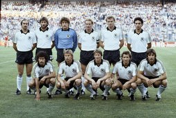 Germany's team in 1982 world cup final.