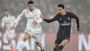 Mateo Kovacic Angel Di Maria PSG Real Madrid Champions League 06032018