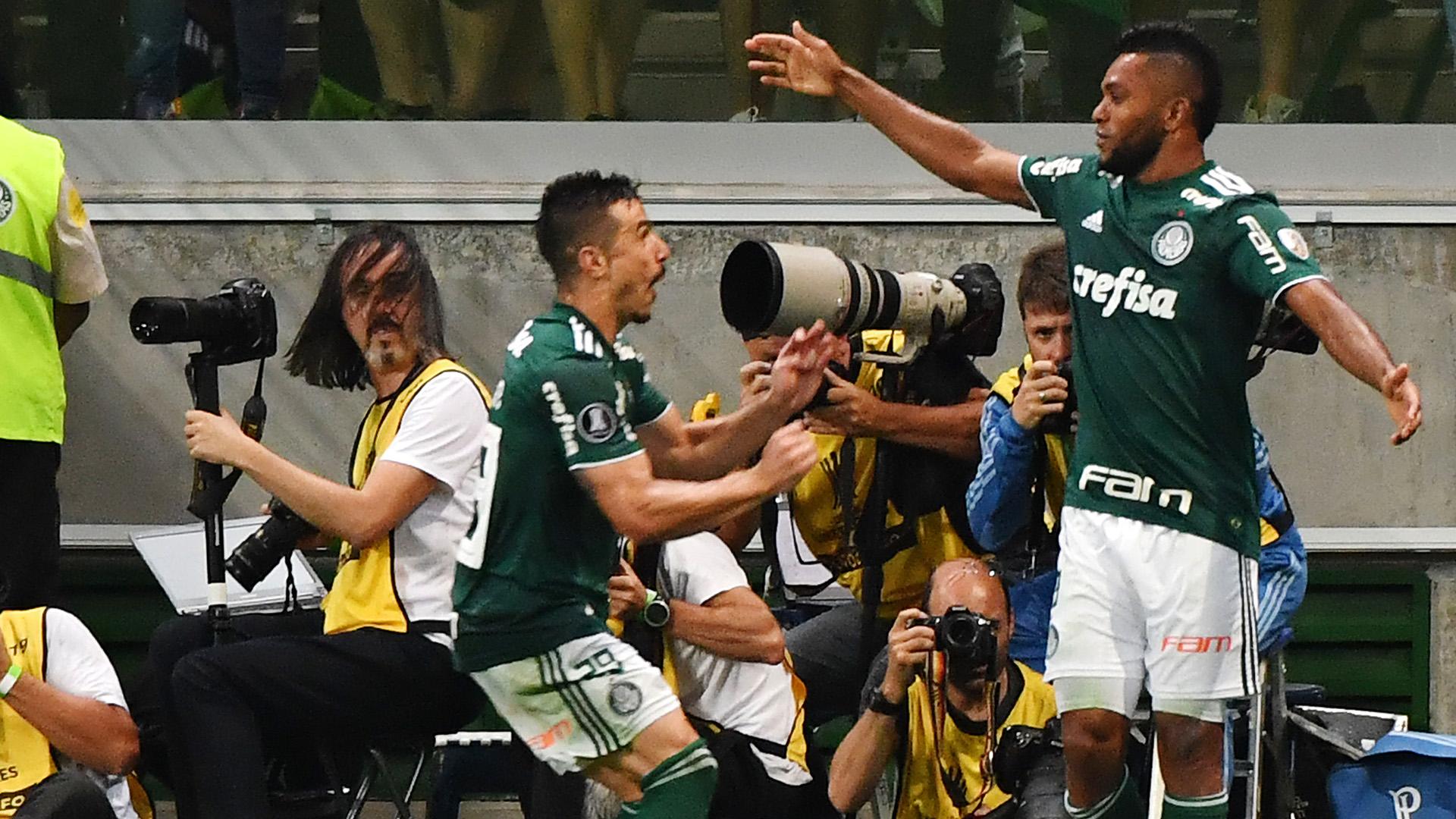 Borja Willian Palmeiras Colo Colo Copa Libertadores 03102018