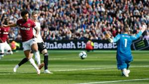 Felippe Anderson West Ham United Manchester United 29092018