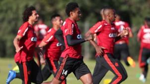 Vitinho treino Flamengo 02082018