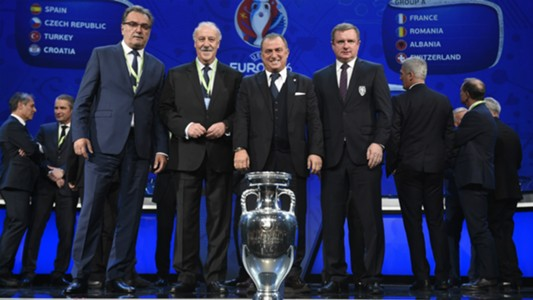 Euro 2016 Group Stage Draw