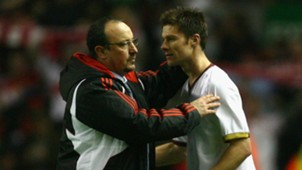 Xabi Alonso Rafael Benitez Liverpool