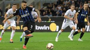 Mauro Icardi Inter Fiorentina Serie A 25092018