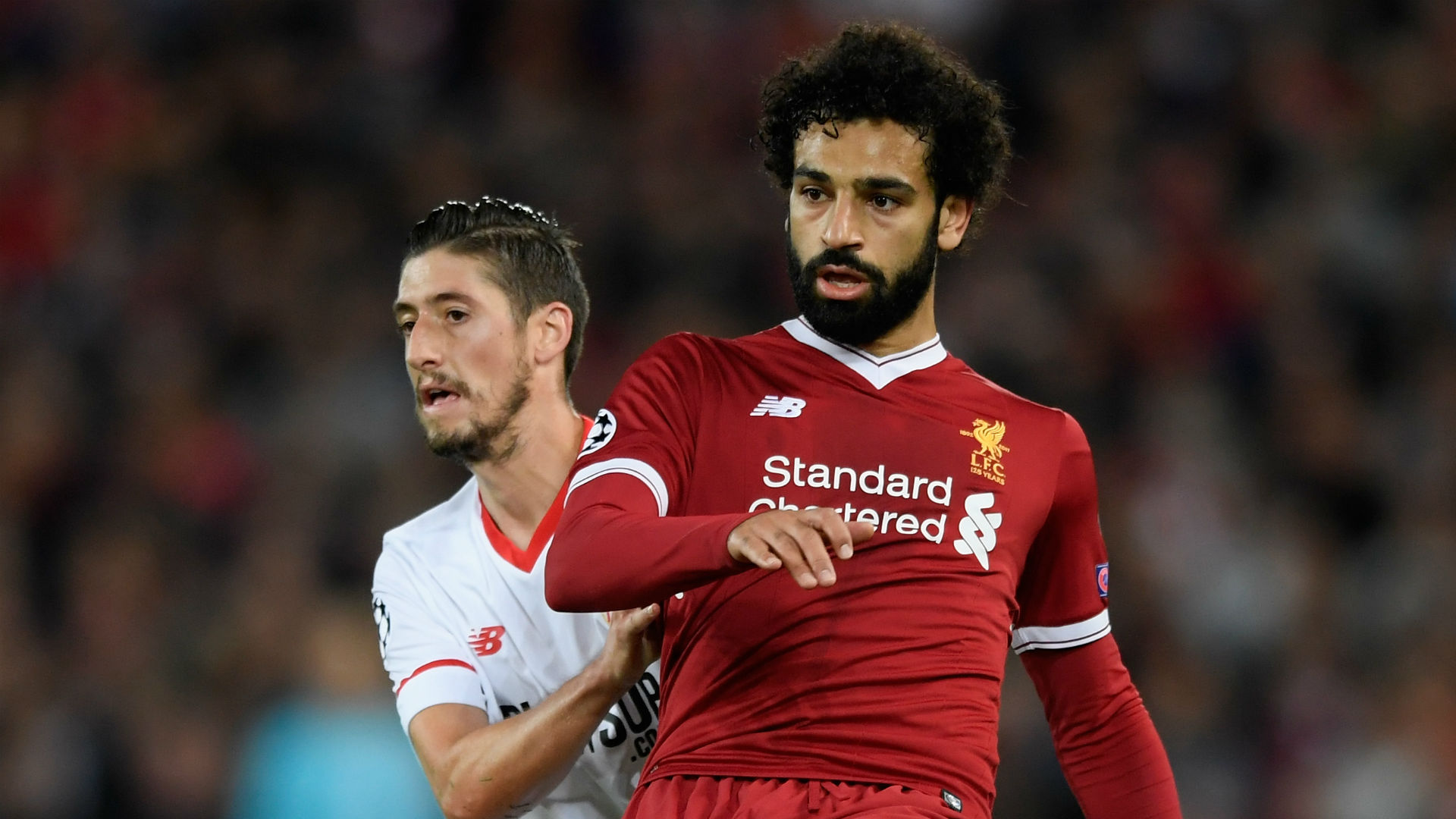 Mohamed Salah Liverpool vs Sevilla