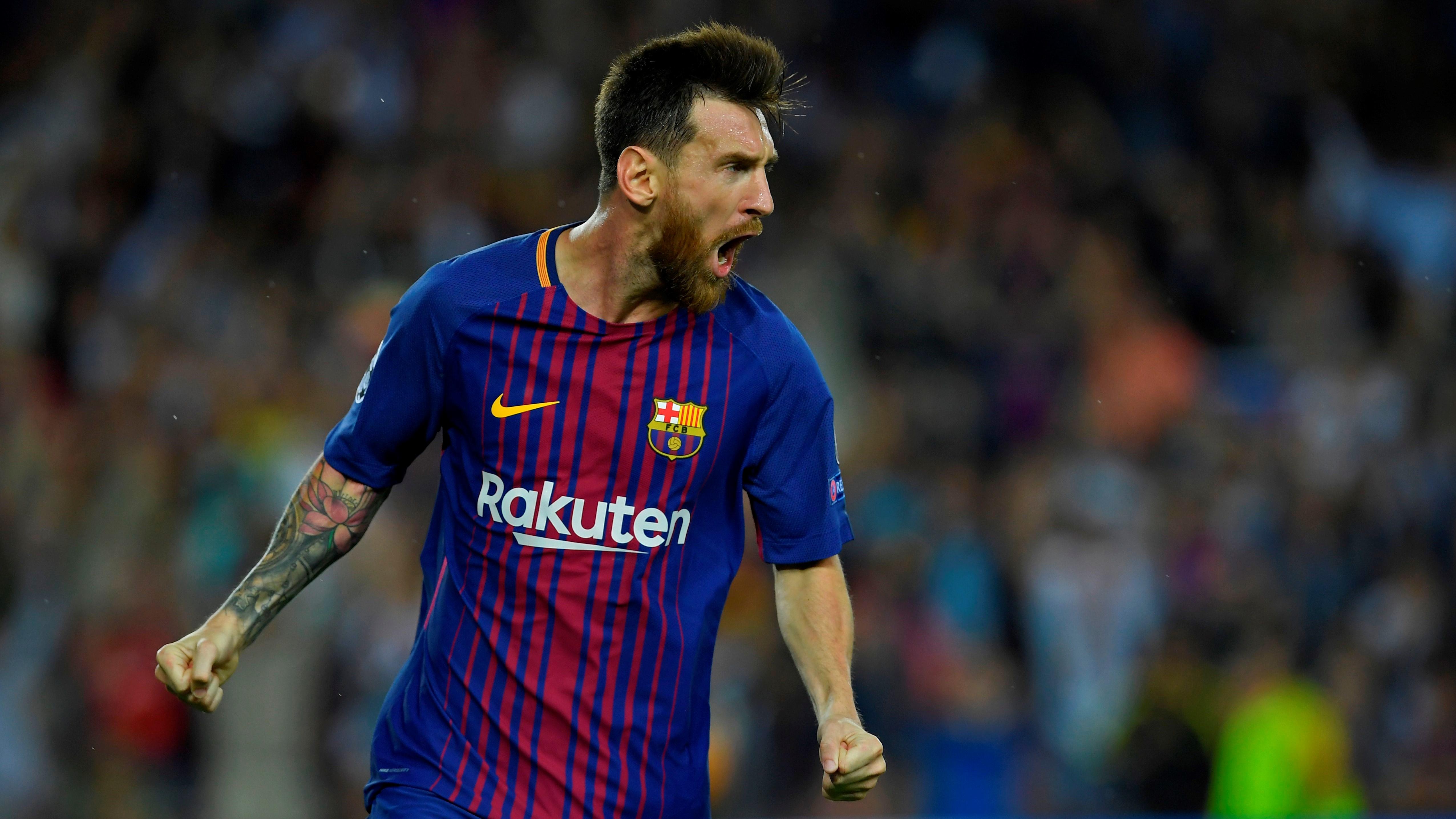 Lionel Messi Barcelona Juventus Champions League 12092017