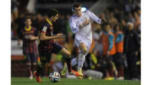 Gareth Bale Marc Bartra Real Madrid Barcelona Copa del Rey 2014