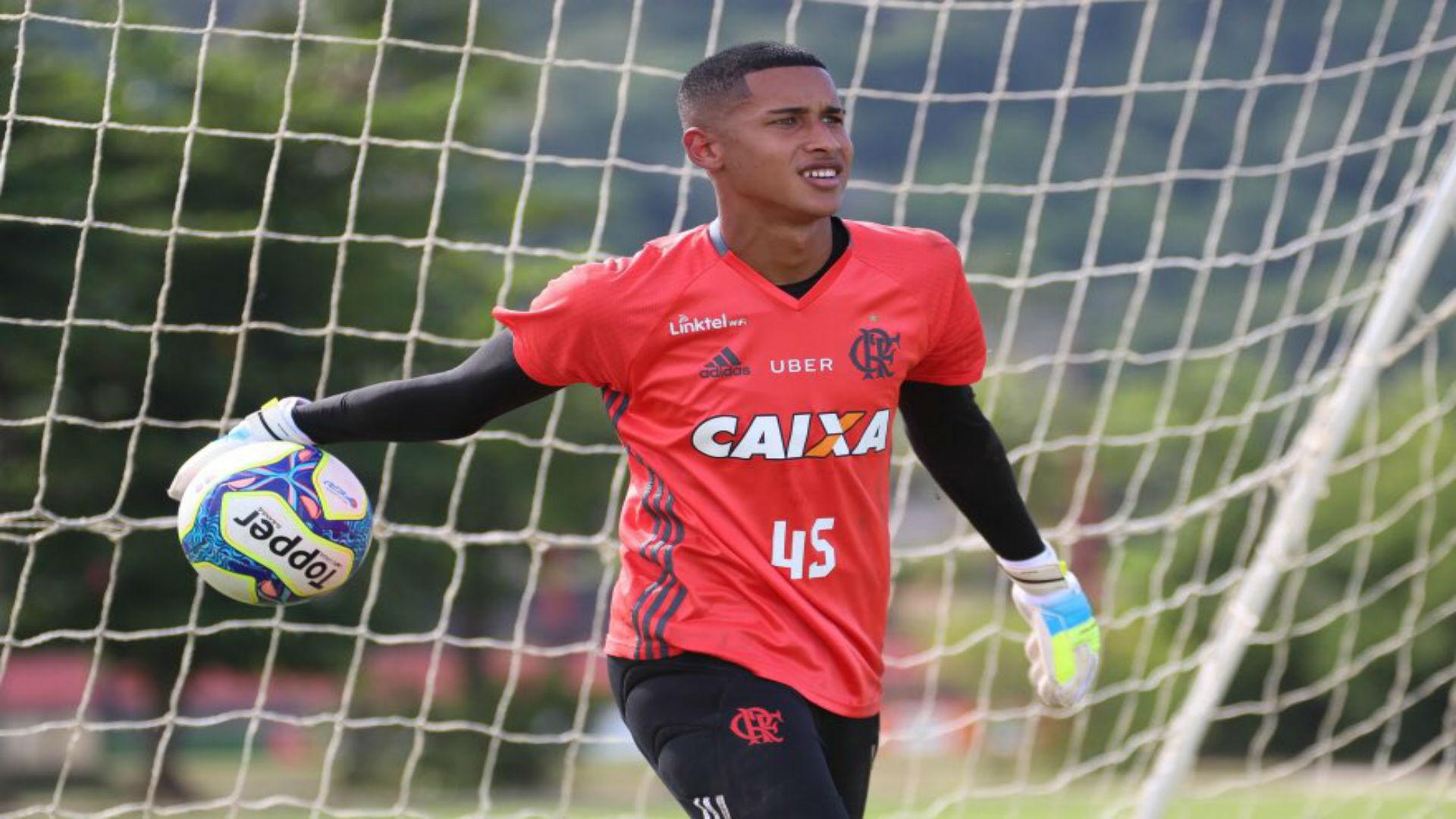 Gabriel Batista goleiro Flamengo