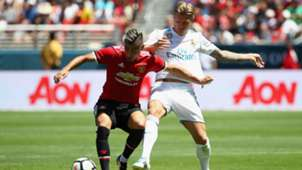 Pareira, Toni Kroos, Manchester United - Real Madrid, ICC, 02082017