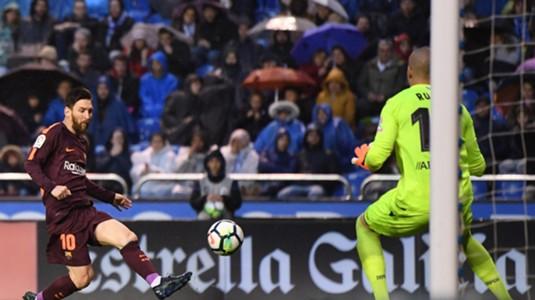 Messi Barcelona Deportivo de La Coruña LaLiga