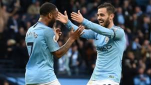 Raheem Sterling Bernardo Silva Man City vs Southampton Premier League 2018-19