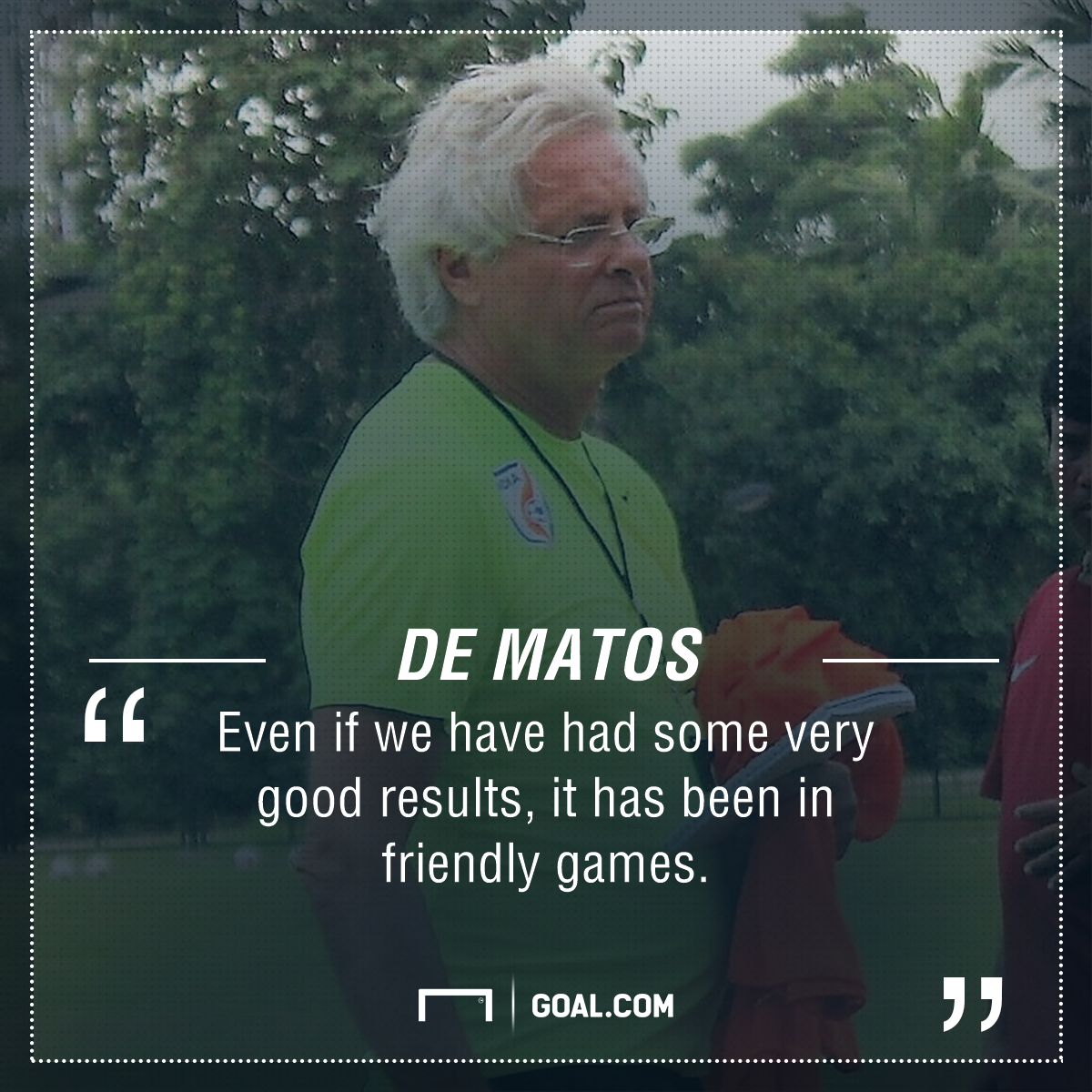 GFX Quote Luis Norton de Matos India U17