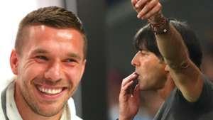 Lukas Podolski Joachim Low