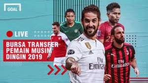 GFXID Bursa Transfer Januari 2019