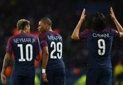 Neymar Mbappe Cavani PSG Bayern