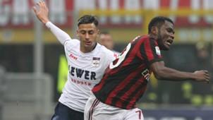 Franck Kessie Rolando Mandragora Milan Crotone Serie A