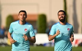 Burak Yilmaz and Arda Turan
