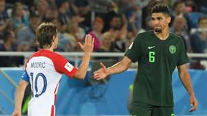 Nigeria vs. Croatia - Luka Modric, Leon Balogun