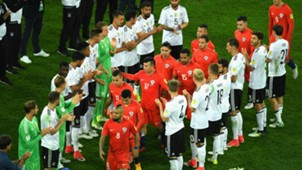 Chile Germany pasillo campeones 020717 Confederations Cup