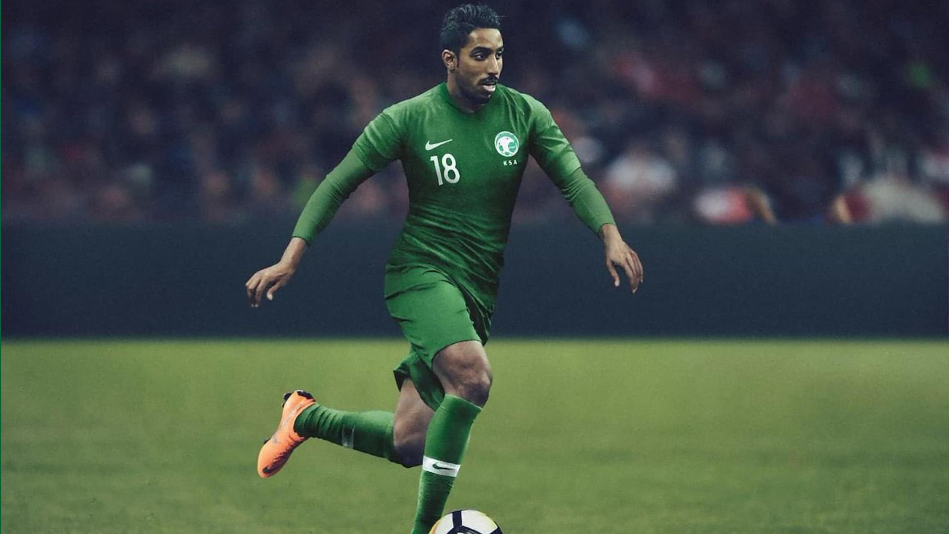 Arabia Saudita Camiseta Alternativa Saudi Arabia Away Kit 2018