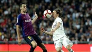Luka Modric Sergio Busquets Real Madrid Barcelona LaLiga 03022019