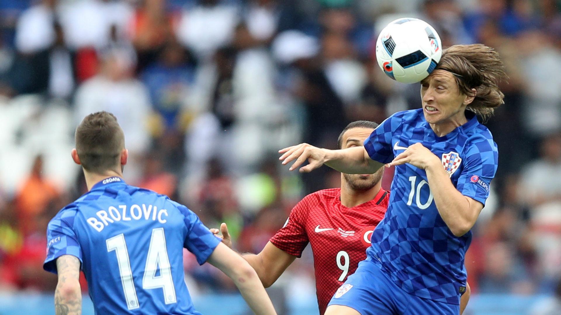 Luka Modric Marcelo Brozovic Croatia Turkey Euro 12062016