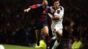 Luis Enrique Giggs Barcelona Manchester United 1998
