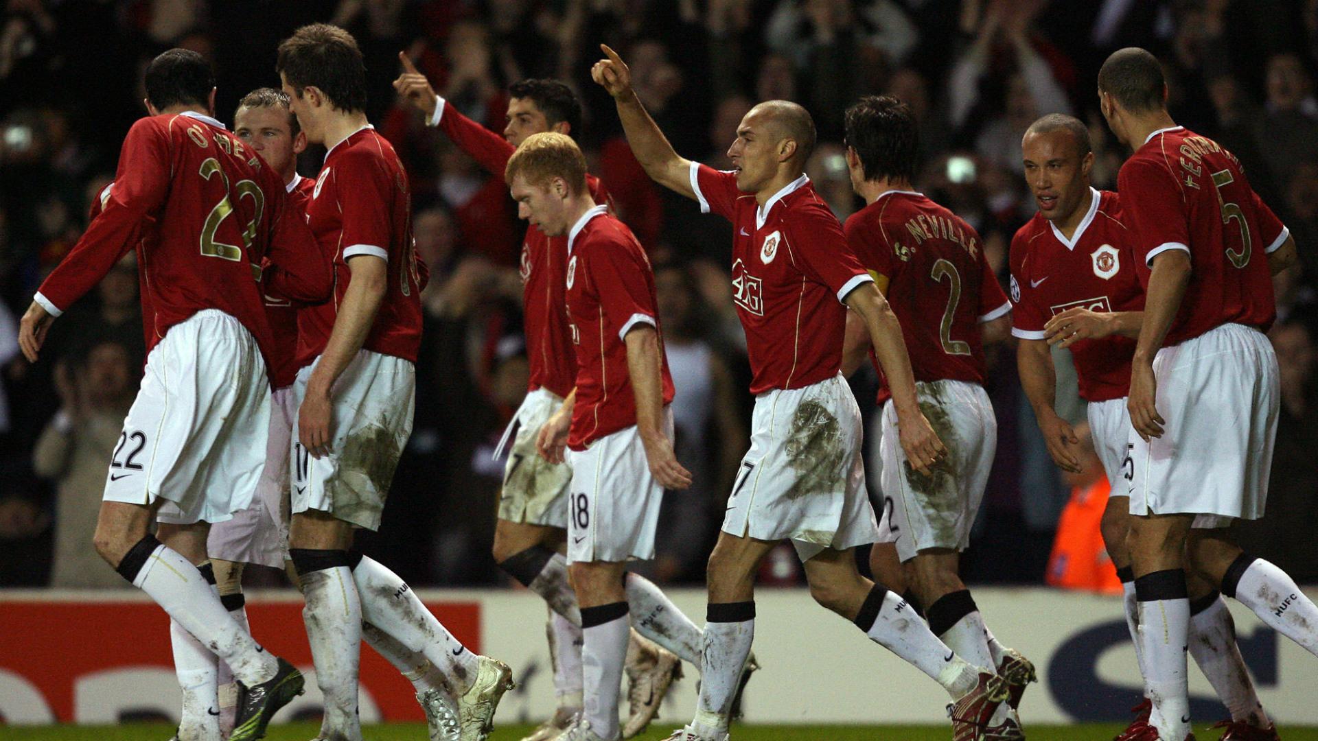 Larsson Ronaldo Manchester United