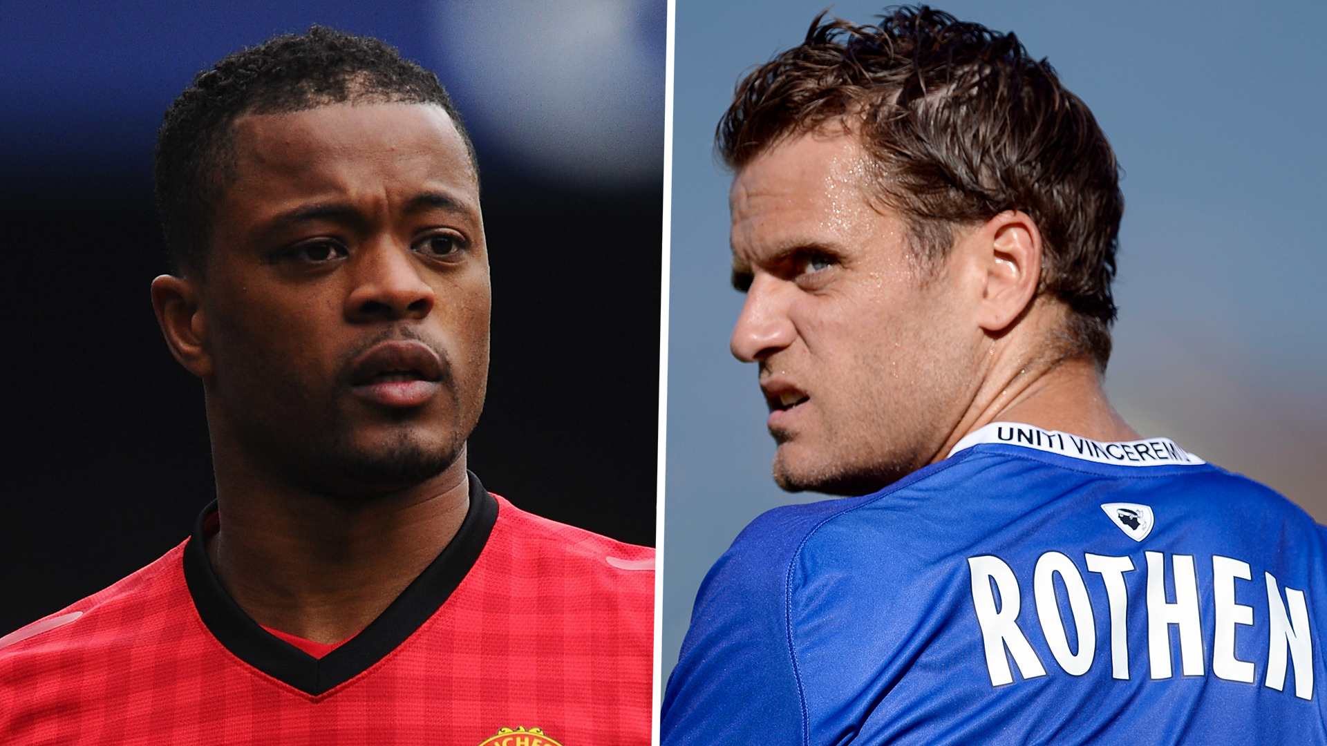 Evra Offers Out Former Teammate After He Criticised His Celebration