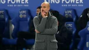 Pep Guardiola Leicester vs Manchester City Premier League 2018-19