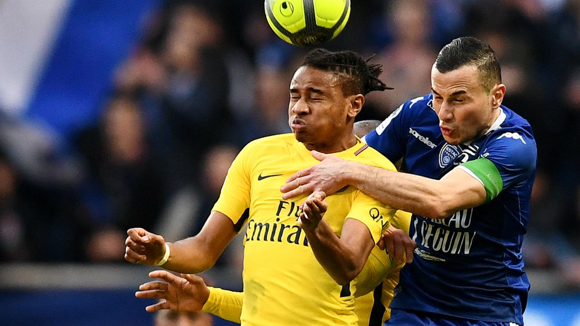 Christopher Nkunku Troyes PSG Ligue 1 03032018