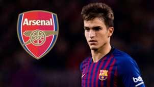 Denis Suarez Barcelona Arsenal