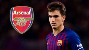 Denis Suarez Barcelona Arsenal