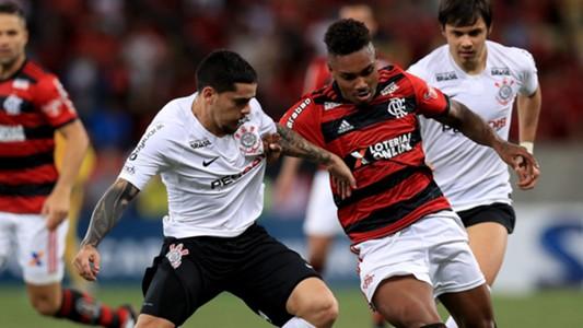 Vitinho Fagner Flamengo Corinthians Copa do Brasil 12092018