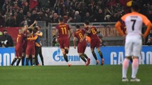 Dzeko goal Roma Shakhtar Donetsk