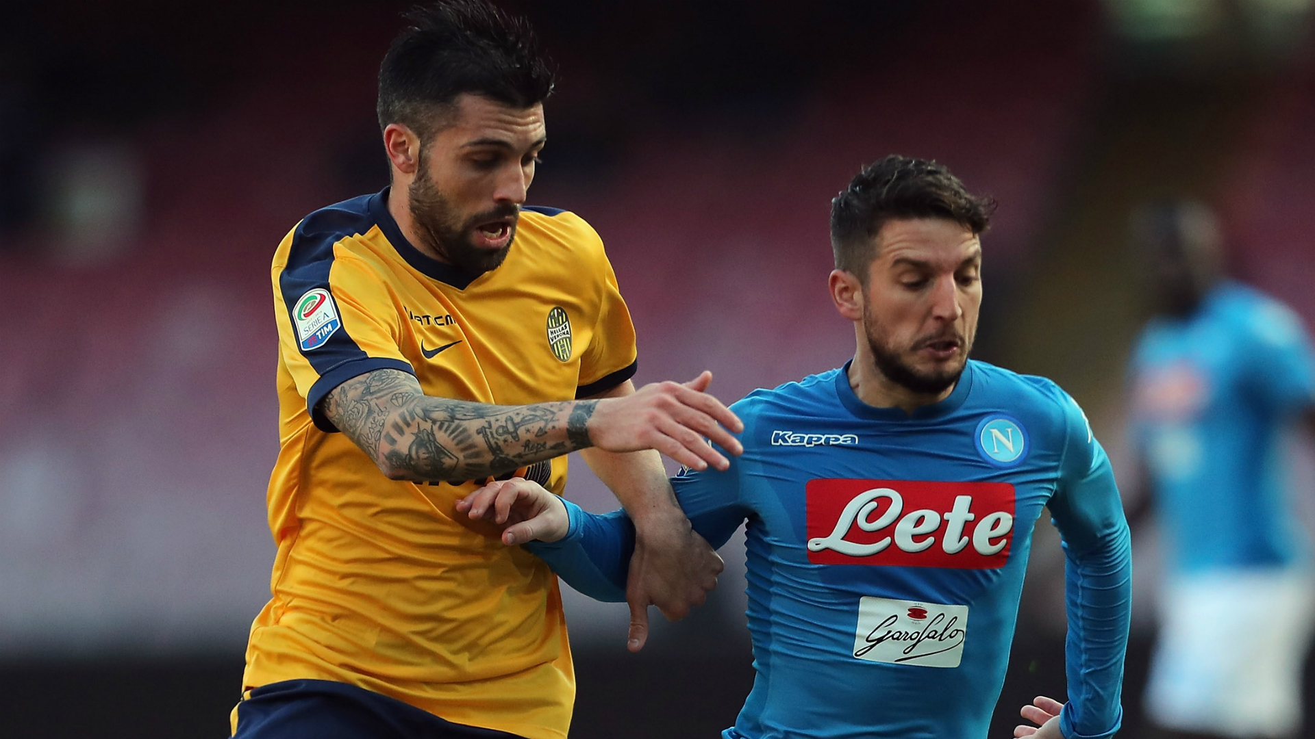 Bessa Mertens Napoli Verona Serie A