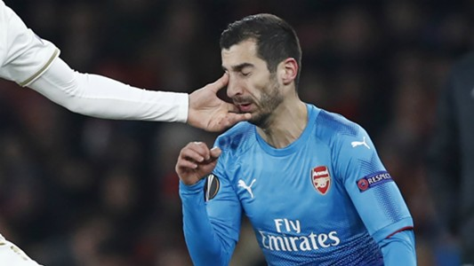Henrikh Mkhitaryan Arsenal Ostersund