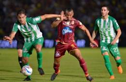Deportes Tolima vs Atlético Nacional final ida Liga Águila 2018