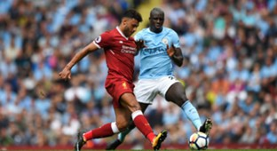 Alex Oxlade-Chamberlain Benjamin Mendy Manchester City Liverpool