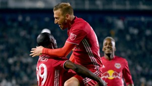 Bradley Wright-Phillips Daniel Royer New York Red Bulls