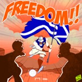CARTOON Robertson Braveheart